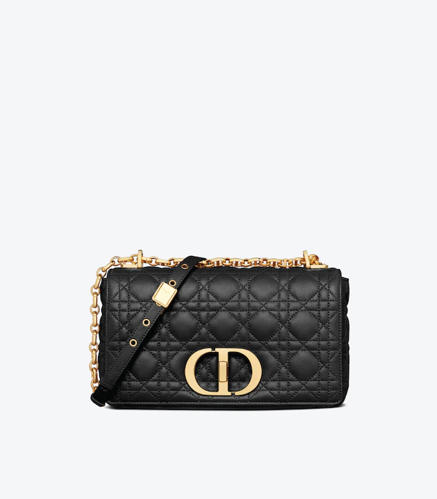 The Designer Bags Of 2021. Dior Medium Caro Bag Black