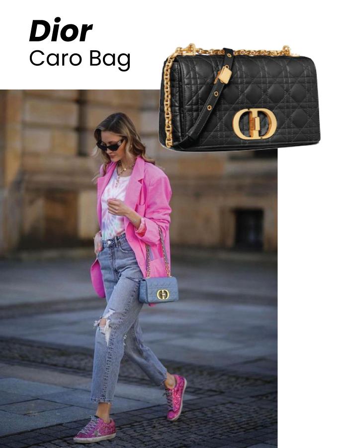 The Designer Bags Of 2021. Dior Caro Bag
