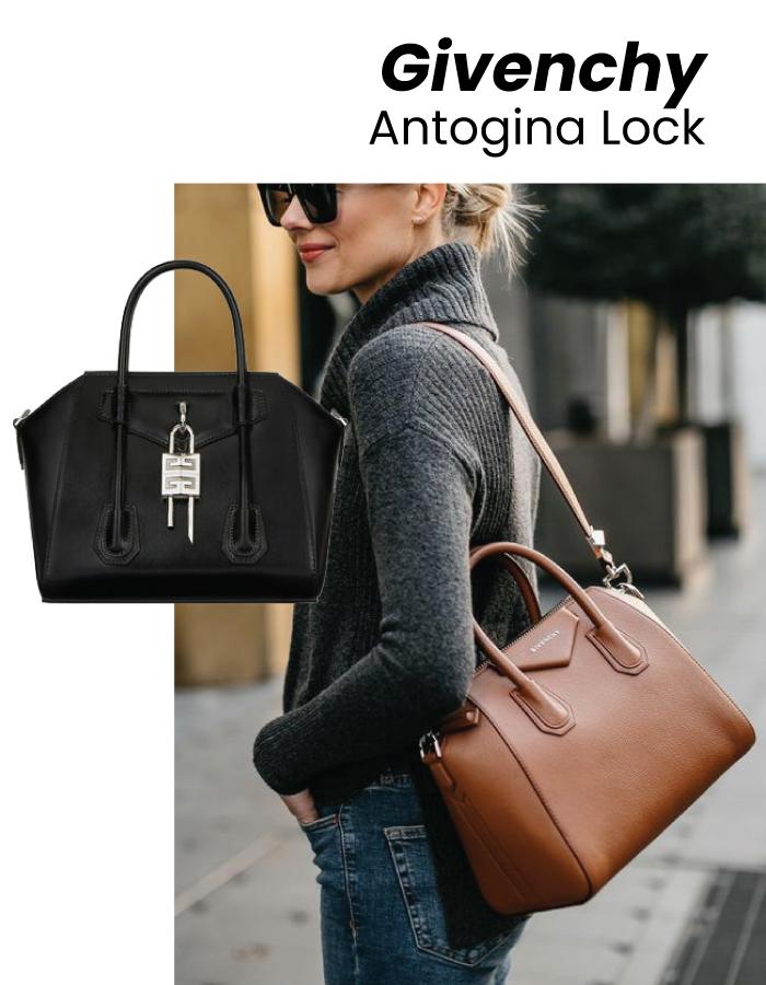The Designer Bags Of 2021. Givenchy Antigona Lock