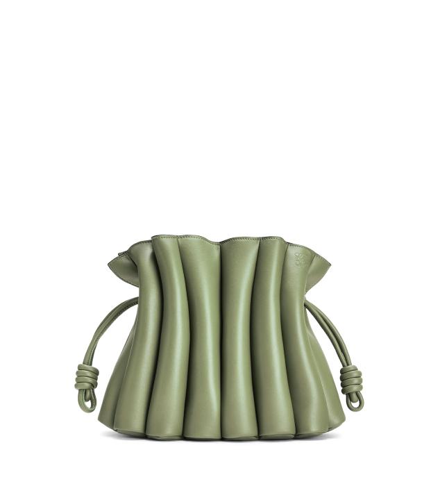 The Designer Bags Of 2021. Loewe Flamenco Ondas Clutch Bag Rosemary