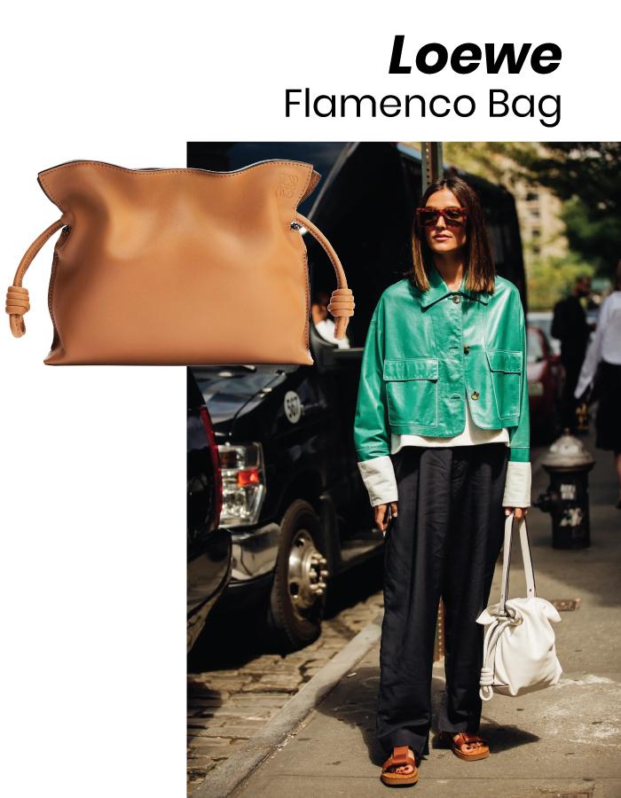 The Designer Bags Of 2021. Loewe Flamenco Bag