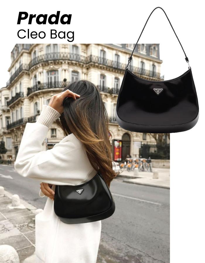 The Designer Bags Of 2021. Prada Cleo Bag