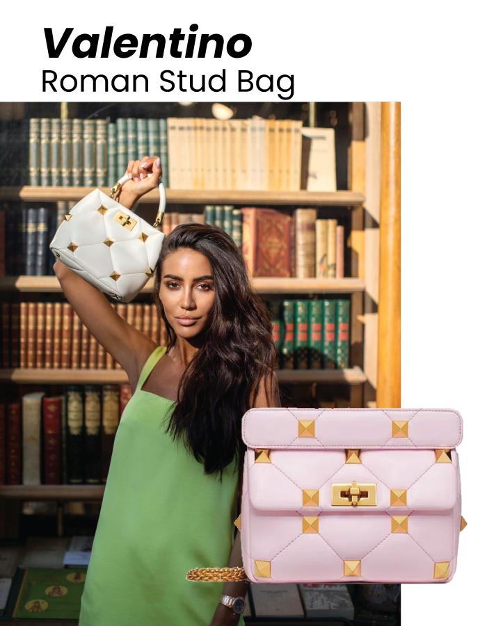 The Designer Bags Of 2021. Valentino Roman Stud Bag