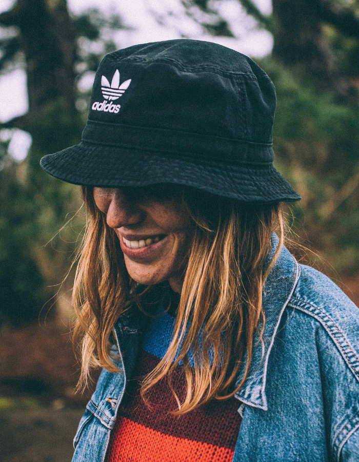 Bucket Hats You Will Want To Wear All Summer. Bucket hat from Adidas.
