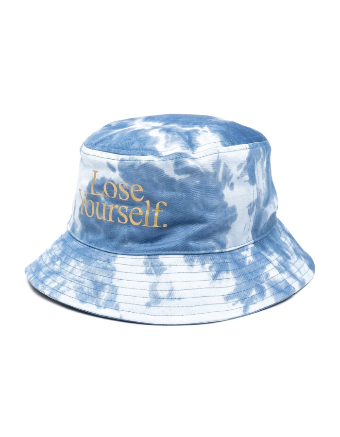 Bucket Hats You Will Want To Wear All Summer. Tie-dye print hat from Paco Rabanne.