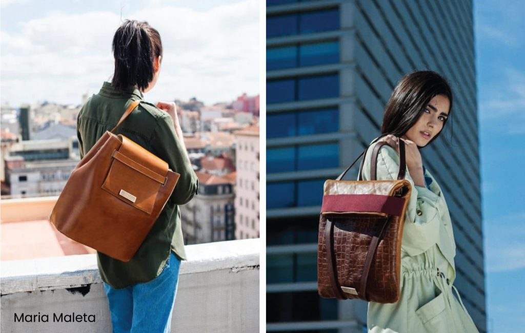 The List Of Portuguese Brands You Need In Your Life. Handbags brand Maria Maleta.