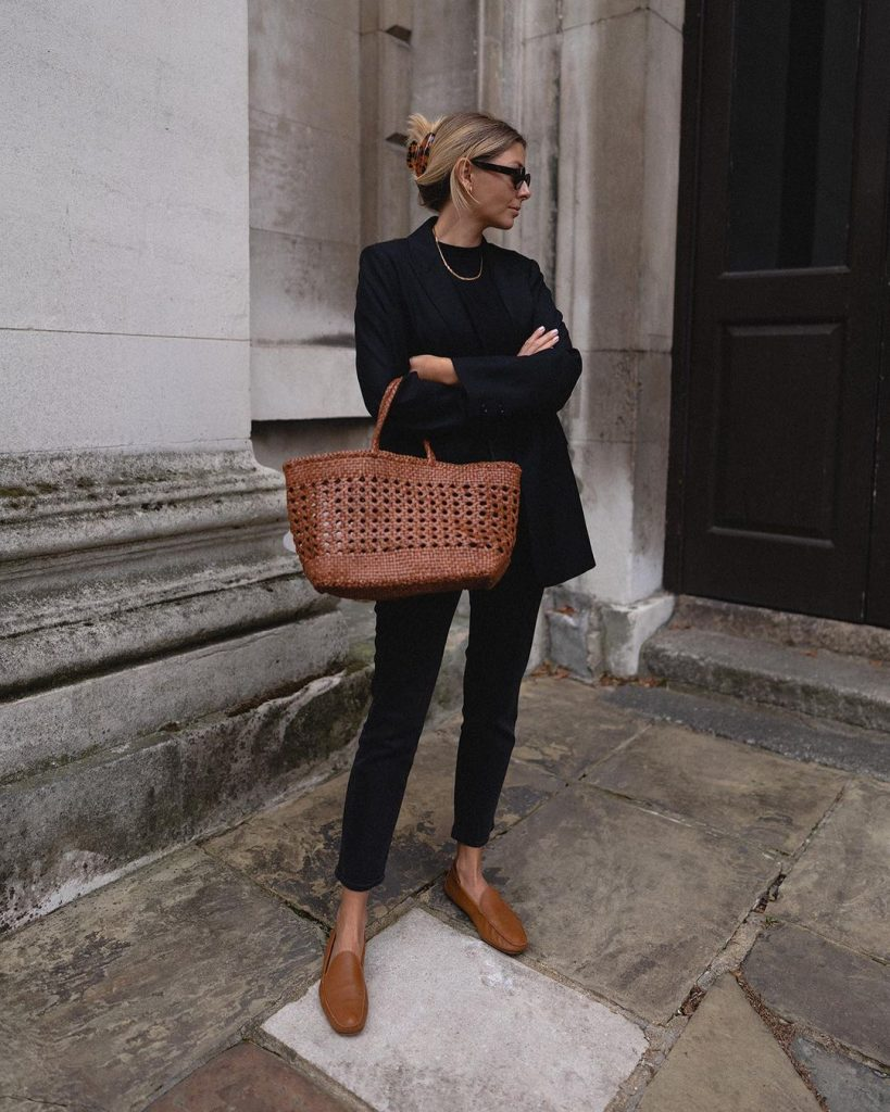 LOAFERS OUTFIT from PINTEREST