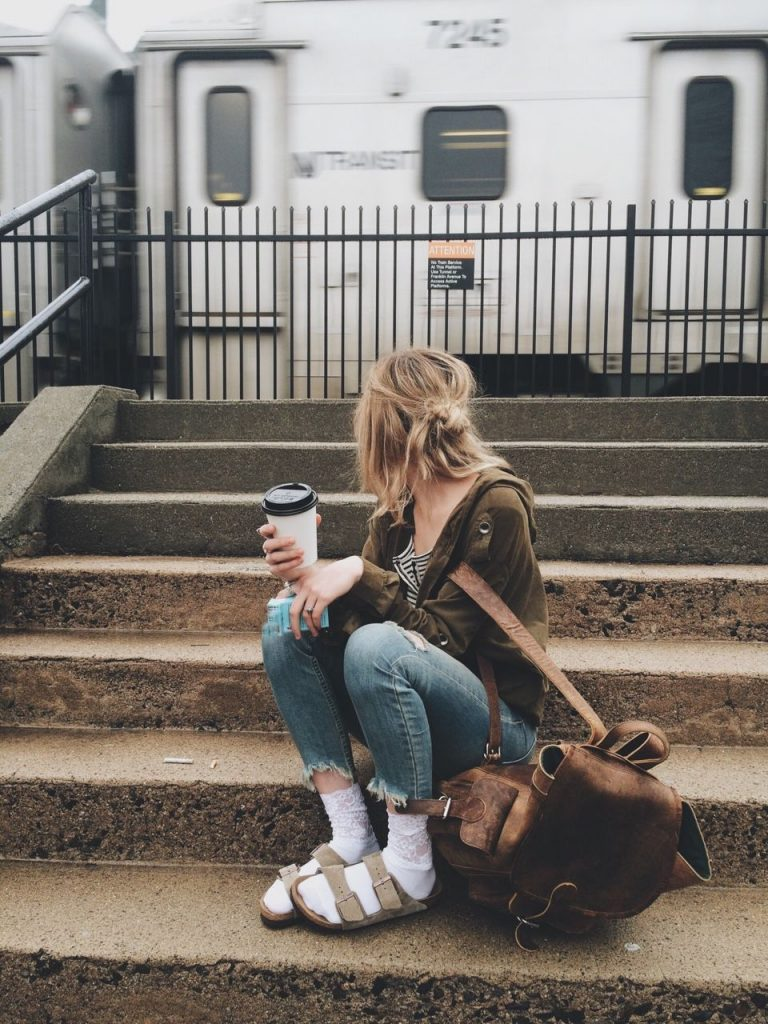 BIRKENSTOCK OUTFIT  from PINTEREST