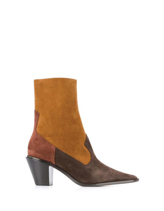 Autumn Boot Trends We Are Trying This Year: Casadei, pointed toe cowboy boots.