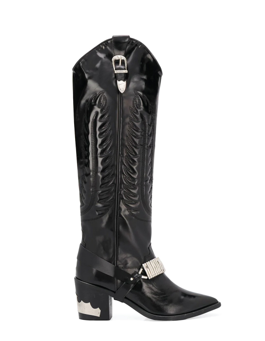 Autumn Boot Trends We Are Trying This Year: Toga Pulla, knee length cowboy boots.