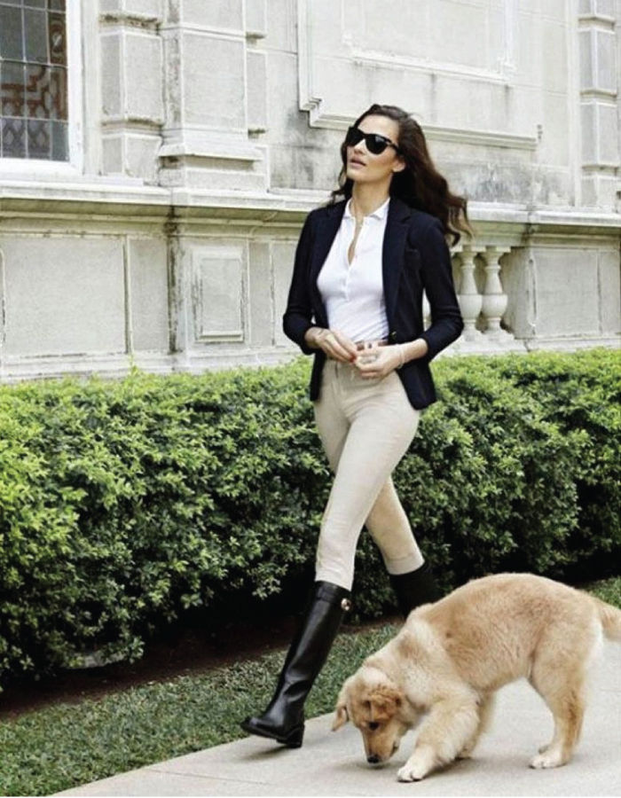 Autumn Boot Trends We Are Trying This Year: black riding boots.