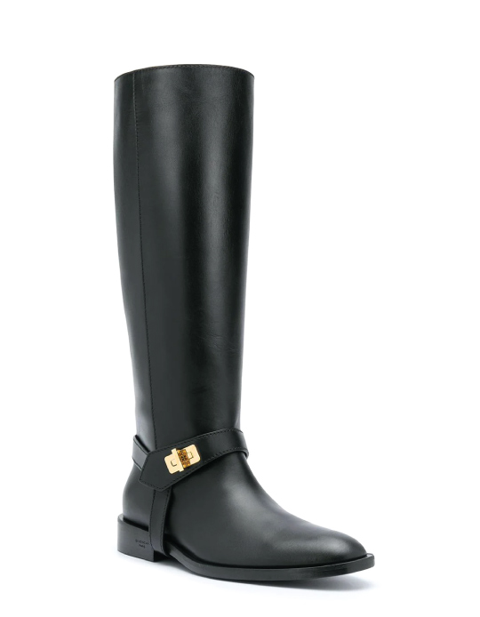 Autumn Boot Trends We Are Trying This Year: Givenchy, calf leather riding boots.