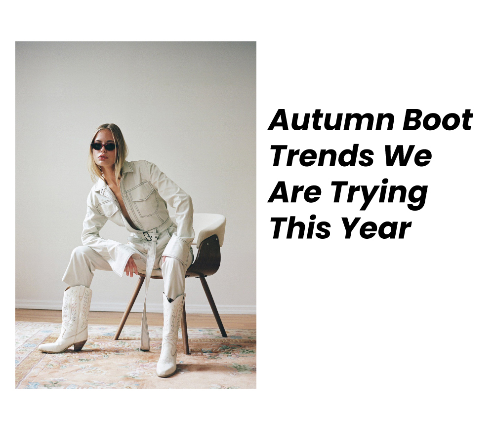 Autumn boot trends for the year 2021
