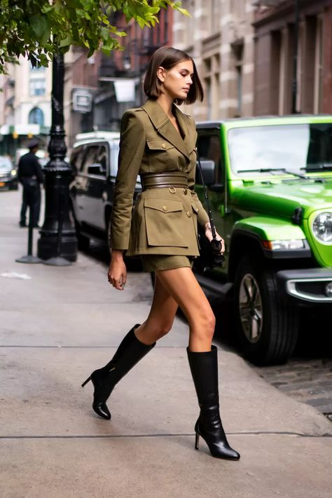 BLACK KNEE HIGH BOOTS from PINTEREST