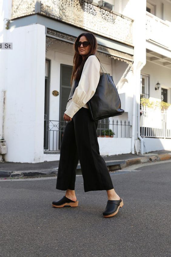 CLOGS OUTFIT  from PINTEREST