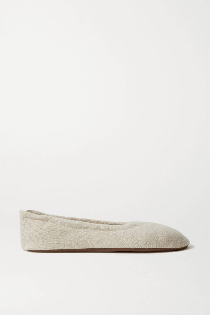 CASHMERE BALLET FLATS  from SKIN