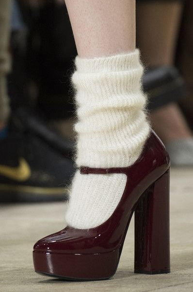 High Platforms With Socks  from PINTEREST