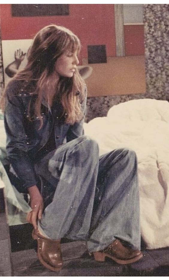 ´70s CLOG LOOK from PINTEREST